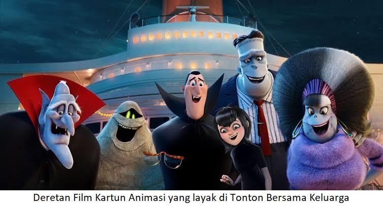 Deretan Film Kartun Animasi yang layak di Tonton Bersama Keluarga